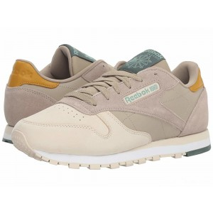 Reebok Lifestyle Classic Leather Super Neutral/Sandtrap/Khaki/White/Chalk Green [Sale]
