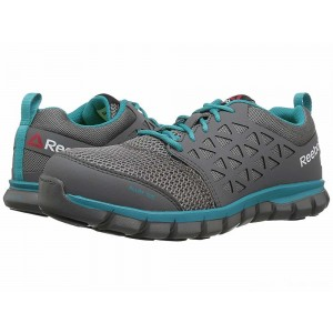 Reebok Work Sublite Cushion Work Grey/Turquoise [Sale]