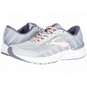 Brooks Ravenna 10 White/Grey/Wild Aster [Clearance Sale]